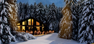 Candlelit Cabin