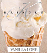 Kringle Vanilla Cone