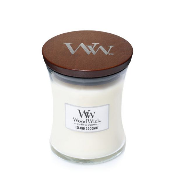 WoodWick Island Coconut medium Jar