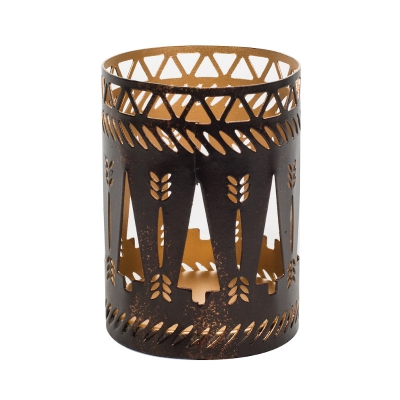 WoodWick - Bronze Trees Petite Candle Holder
