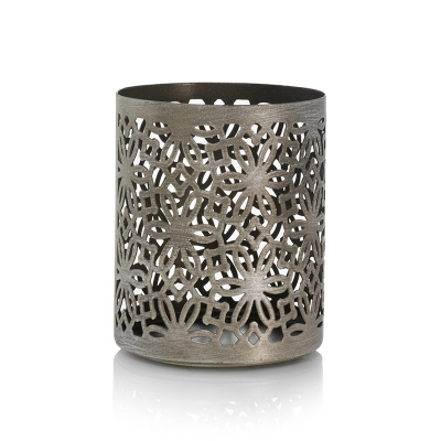 WoodWick - Brushed Petite Candle Holder