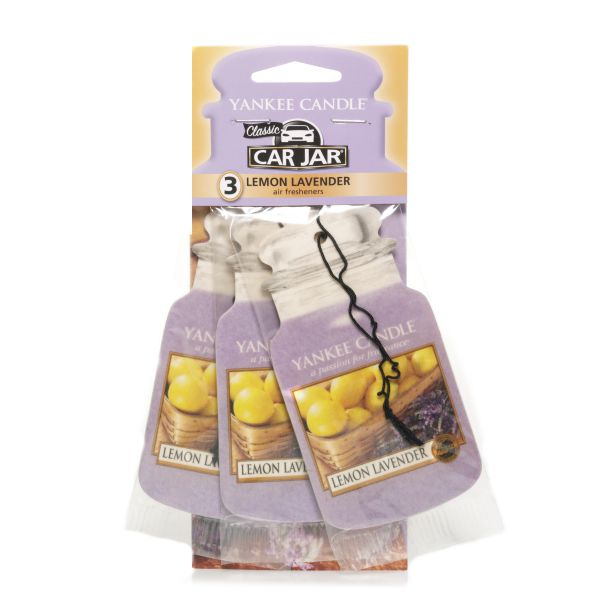 Lemon Lavender 3er Pack Car Refresher