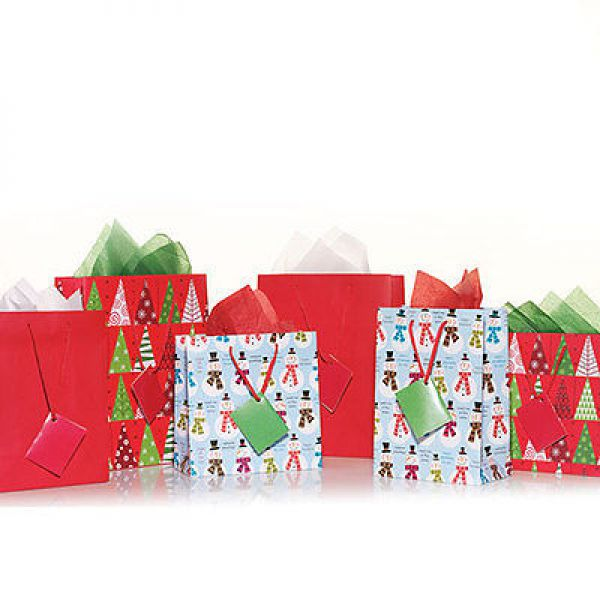 Yankee Candle Gift Bags & Tissous Set