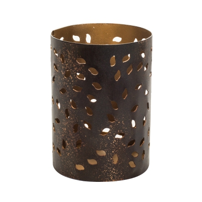 WoodWick - Glowing Leaf Petite Candle Holder