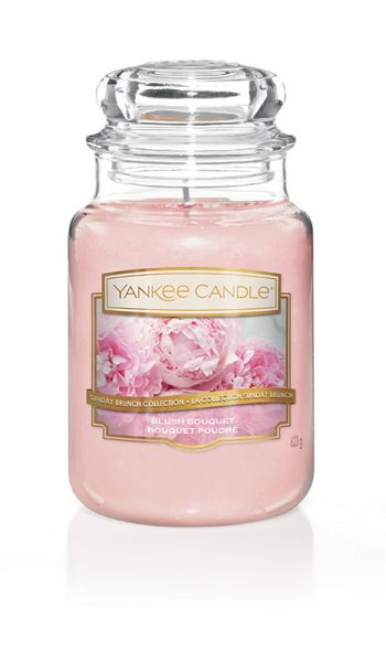 Blush Bouquet Jar gross