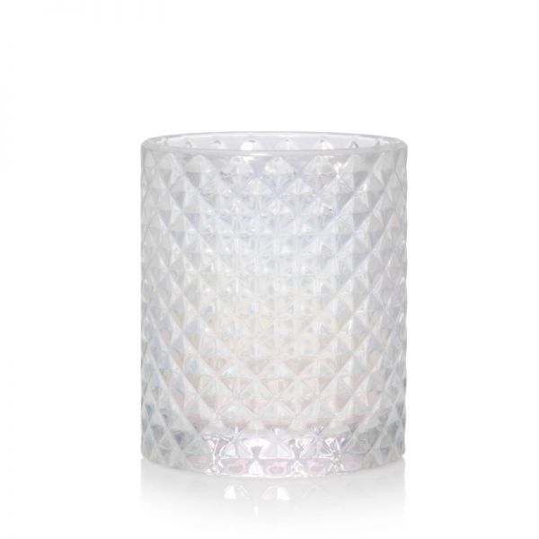 Langham Faceted Glass Votivhalter