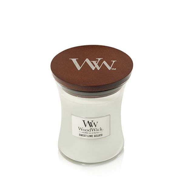 WoodWick Sweet Lime Gelato medium Jar