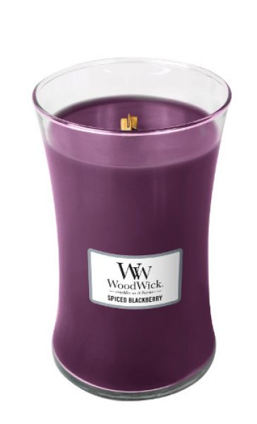 WoodWick Spiced Blackberry large Jar