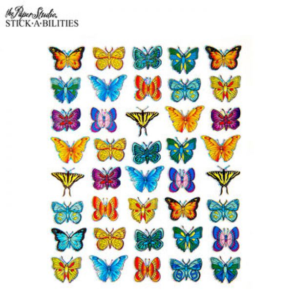 Butterfly Holographic Stickers