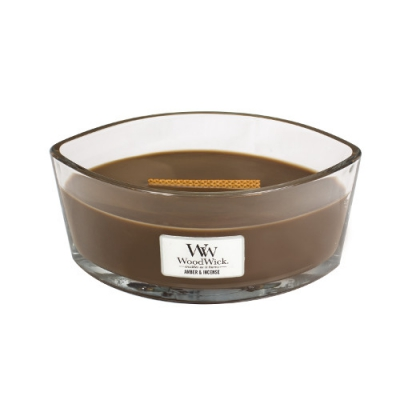 WoodWick Amber & Incense Ellipse
