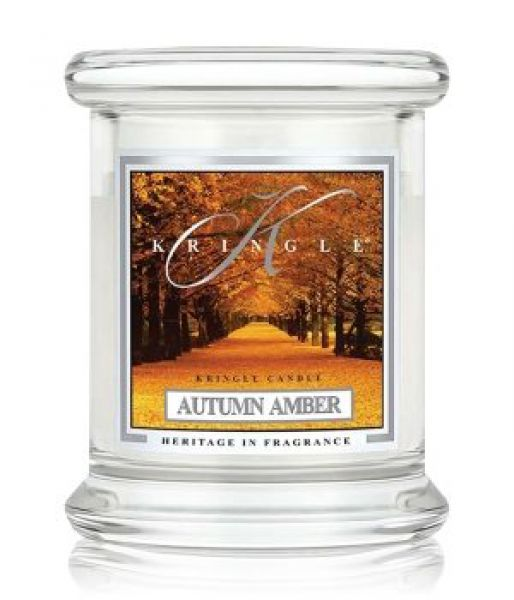 Kringle Autumn Amber Jar mini