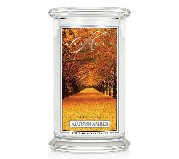 Kringle Autumn Amber Jar gross