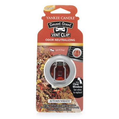 Autumn Wreath Smart Scent Vent Clip