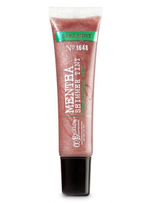 Bath & Body Work's Bare Mint Lip Tint