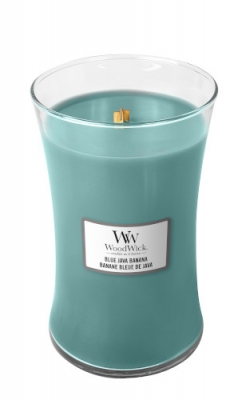 WoodWick Blue Java Banana large Jar