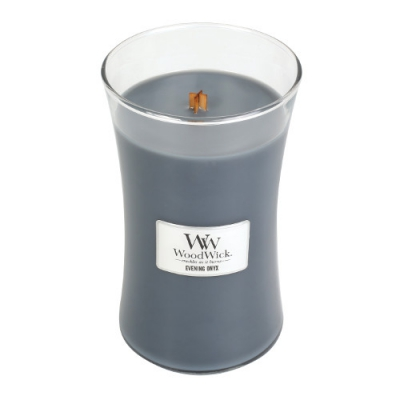 WoodWick Evening Onyx large Jar