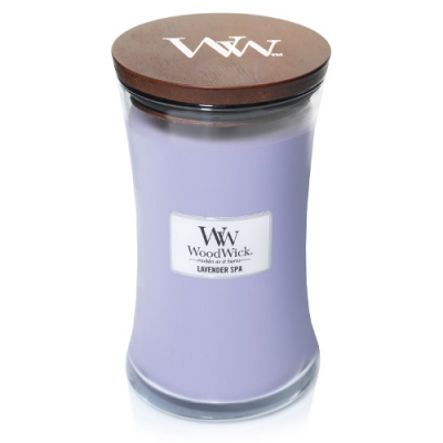 WoodWick Lavender Spa large Jar
