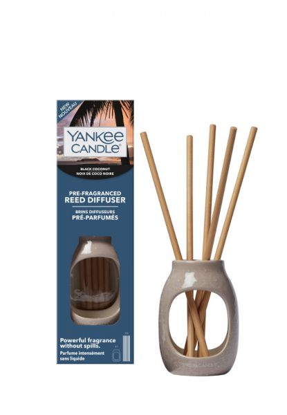 Black Coconut Pre Fragranced Reed Kit