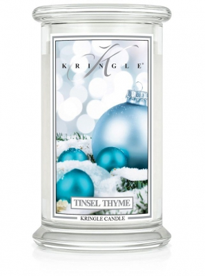 Kringle Tinsel Thyme Jar gross
