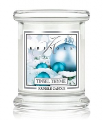 Kringle Tinsel Thyme Jar mini