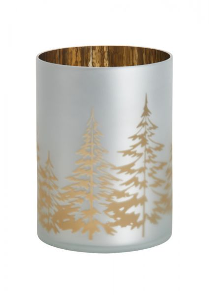 Winter Trees Jar Halter