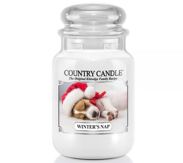 Country Candle Winters Nap Jar gross