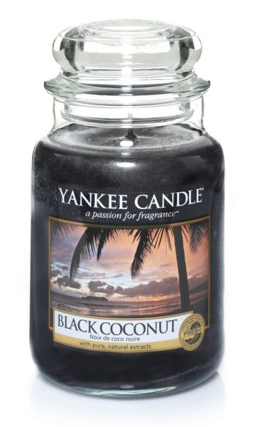 Black Coconut Jar gross