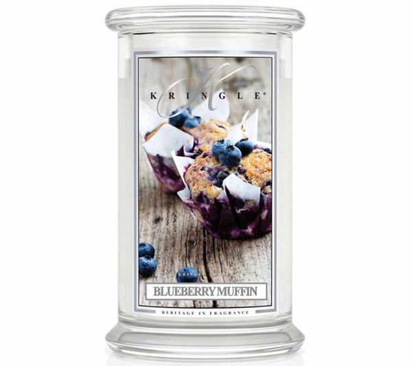 Kringle Blueberry Muffin Jar gross