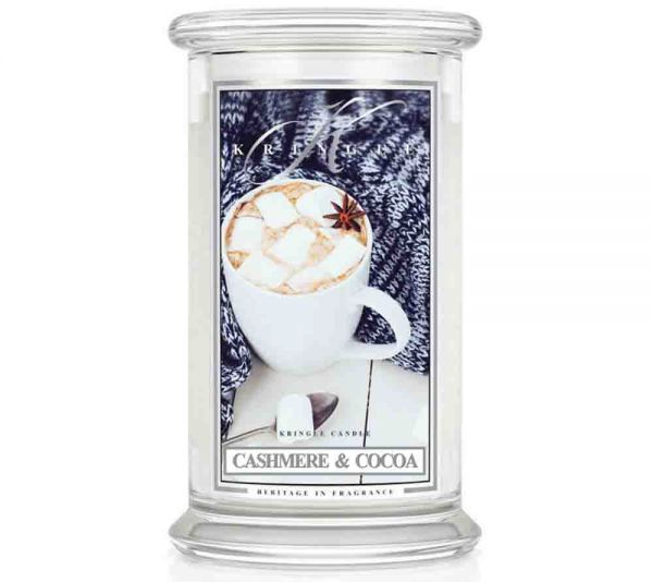 Kringle Cashmere & Cocoa Jar gross