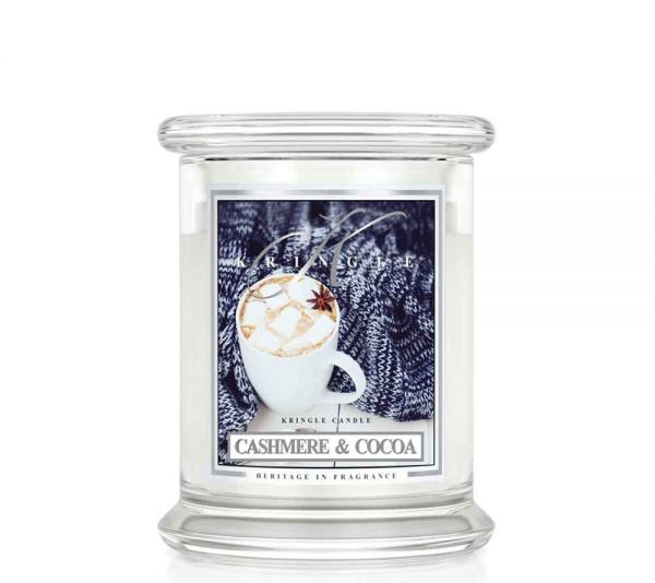 Kringle Cashmere & Cocoa Jar medium