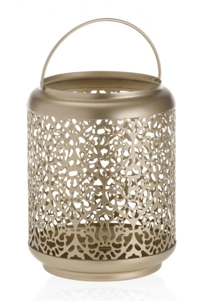 Champagne Pearl Jar Laterne gross