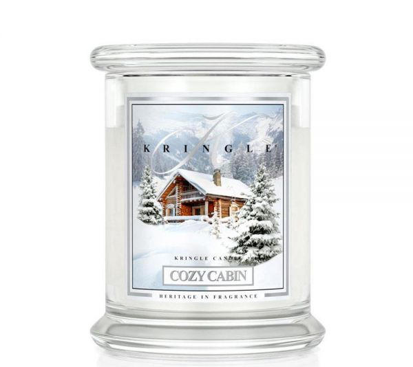 Kringle Cozy Cabin Jar medium