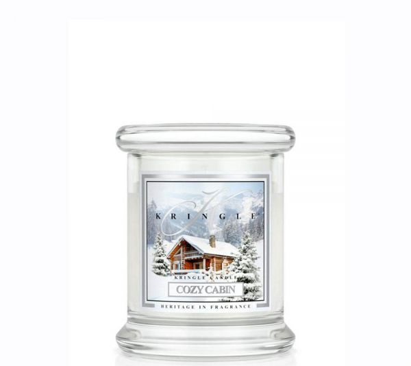 Kringle Cozy Cabin Jar mini