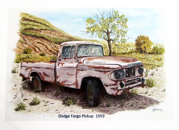 Dodge Fargo Pickup 1959