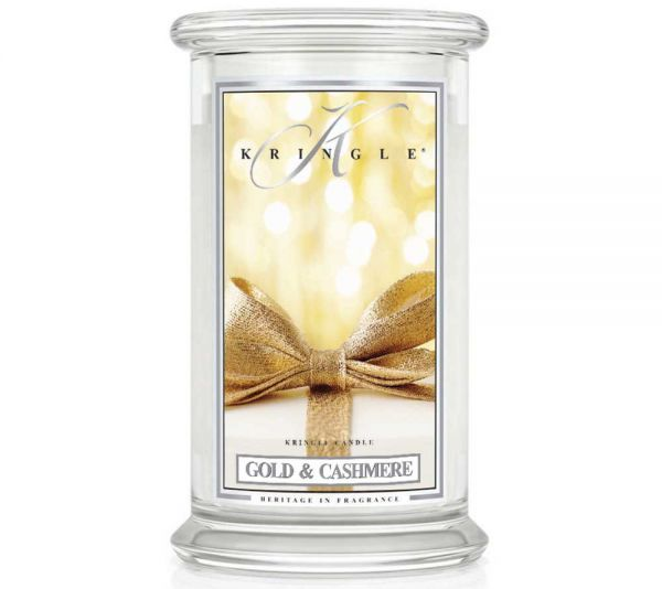 Kringle Gold & Cashmere Jar gross