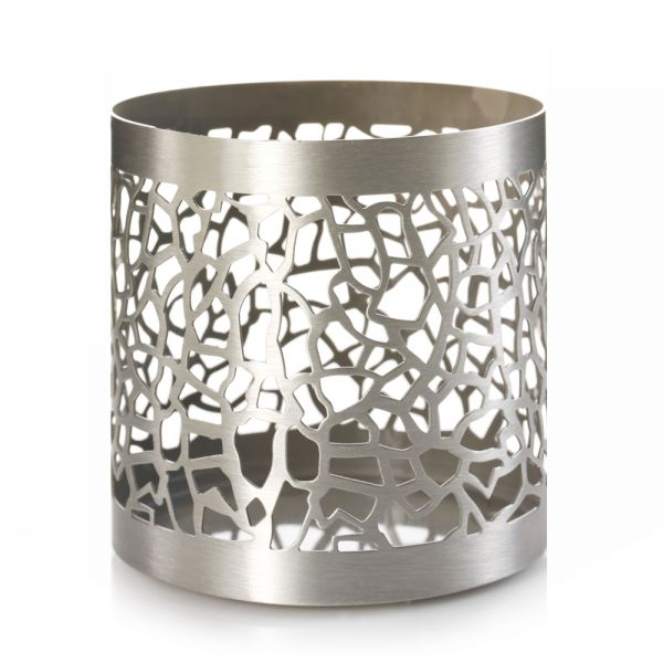 Matrix Brushed Silver Jar Holder - 50% reduziert!
