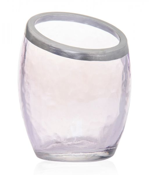 Pearlescent Crackle Votiv Holder purple - 50% reduziert!
