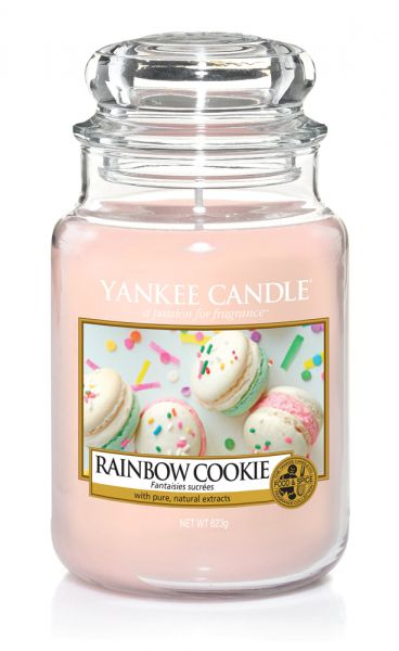 Rainbow Cookie Jar gross