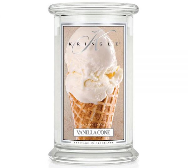 Kringle Vanilla Cone Jar gross