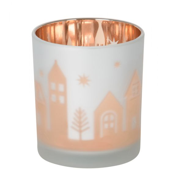 Winter Village Votivholder Flicker Glass - 25% reduziert!