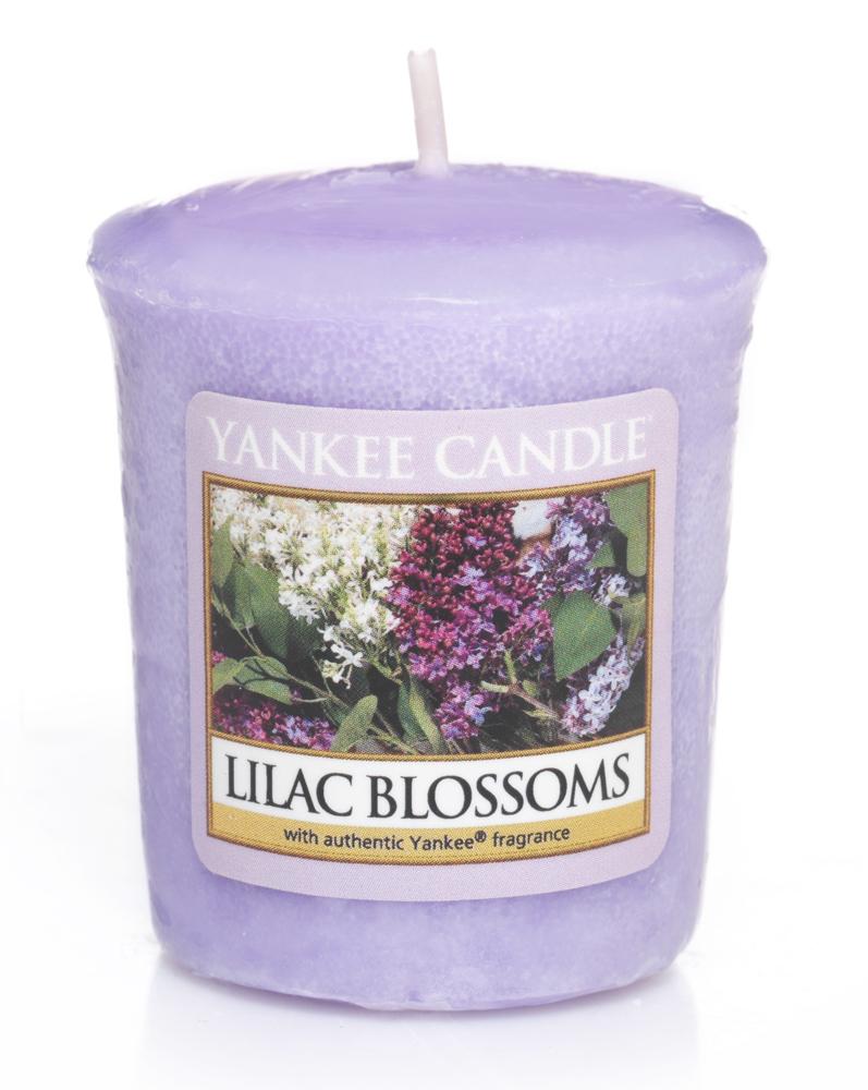 lilac blossoms sampler votiv. Black Bedroom Furniture Sets. Home Design Ideas