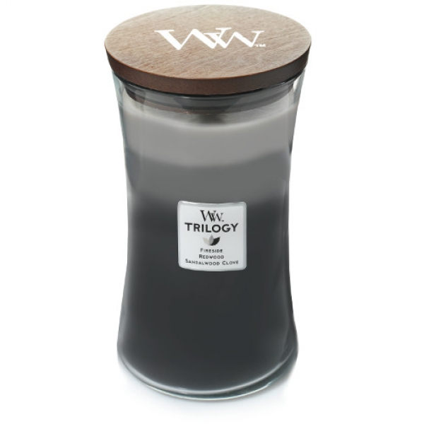 WoodWick Trilogy - Warm Woods gross