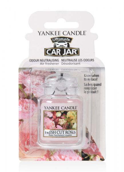 Fresh Cut Roses Car Jar Ultimate