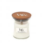 WoodWick White Teak Mini Jar