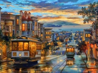 5D Diamond Painting Bild San Francisco